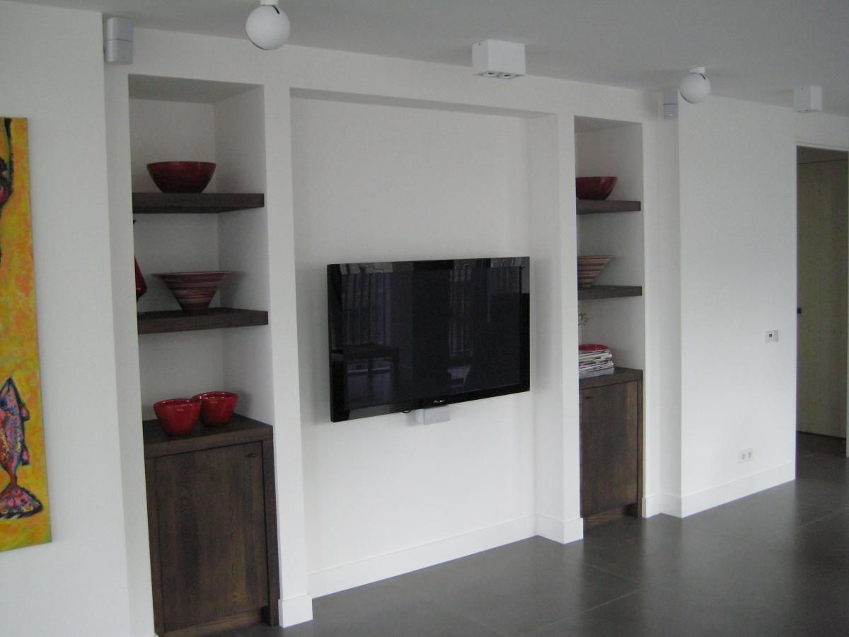 Tv In Keuken : Keuken en tv meubel als één geheel de groof keukens limburg
